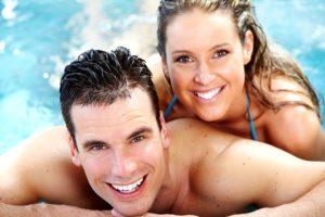 Bazén, wellness, sauna