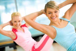 Cvičení, zdravý pohyb, pružné tělo